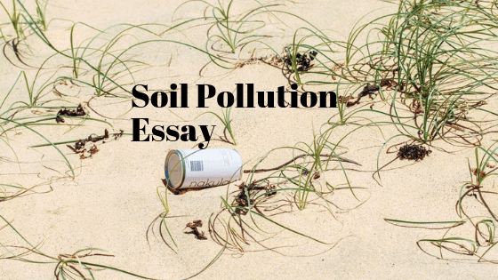 Soil Pollution Essay in English
